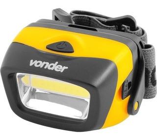 Lanterna Para Cabeça Led Vonder Lcv 120 Super Forte Promoção