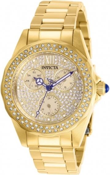 Relógio Invicta Angel 28435 Feminino Original