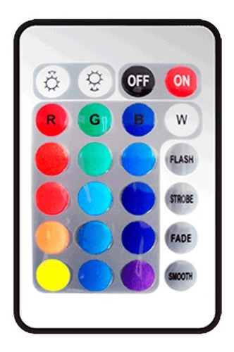 Control Remoto Mascara Facial De 16 Colores