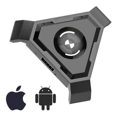 Adaptador Teclado E Mouse Gamer P/ Celular Bluetooth