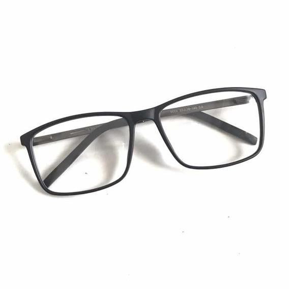 Óculos Sem Grau Masculino Armaçao Quadrado E Leve Pg-188