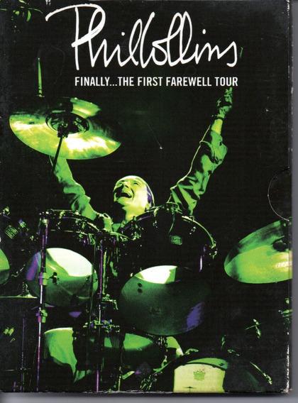 Dvd Duplo Phil Collins Finally The Farewell Tour - Semi-novo