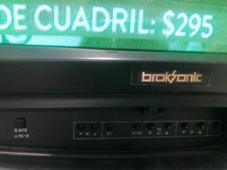 Televisor Broksonic En Perfecto Funcionamiento Con El Sosten