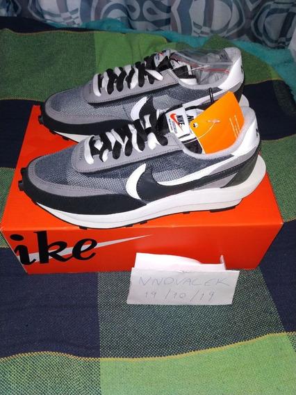 Sacai X Nike Ld Waffle - 40 Br / 8.5 Us - Preto/black