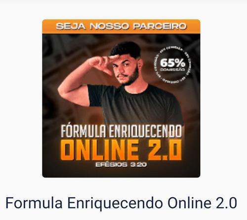Imagem 1 de 2 de Treinamento Fórmula Enriquecendo Online 2.0