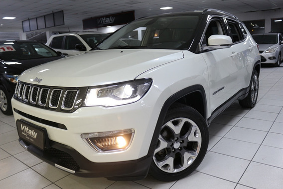 Jeep Compass Limited Flex 2017 Baixo Km!!!