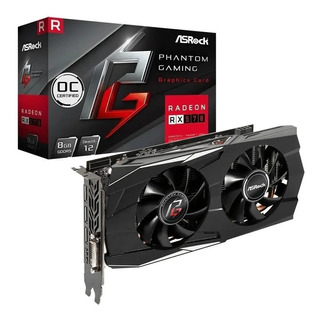 Placa De Video Asrock Radeon Rx 570 8gb Oc Phantom Gaming