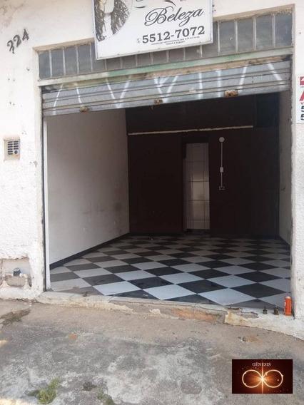 Alugo Salão Comercial - R$ 800,00 - Jardim Germânia - Ar0001