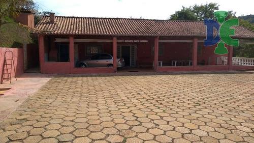 Chácara Com 2 Dormitórios À Venda, 5000 M² Por R$ 850.000,00 - São Silvestre (são Silvestre) - Jacareí/sp - Ch0055