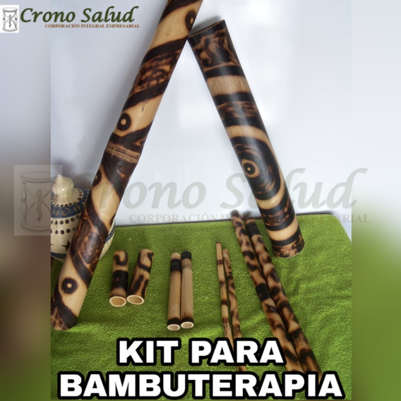 Kit De Bambuterapia (10 Piezas)