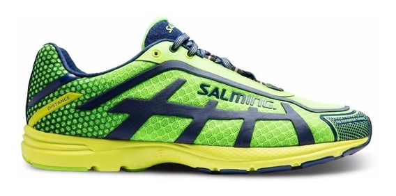 Zapatillas Hombre Running Correr Salming Distance D5 Liviana