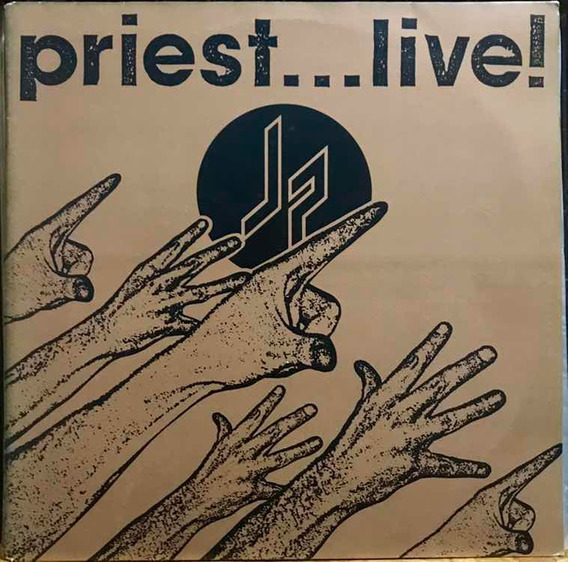 Lp Judas Priest Priest...live! - Nacional, Duplo.
