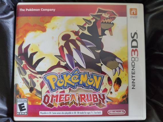 Jogo Pokémon Omega Ruby - 3ds