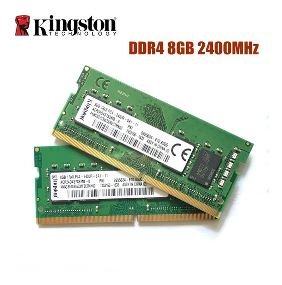 Kingston Ddr4 8g 2400mhz 100% Original