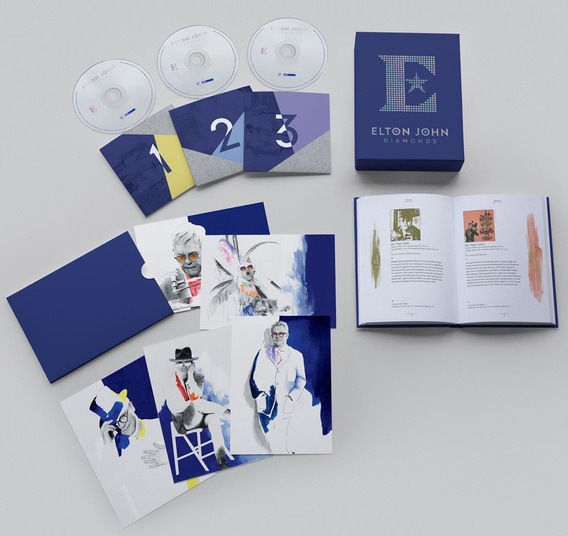 Elton John - Diamonds Deluxe Edition [3 Cds] Pronta Entrega