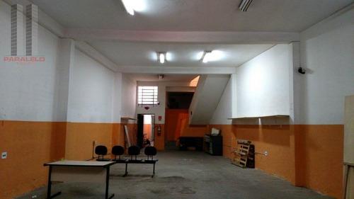 Galpão, 400 M² - Venda Por R$ 900.000,00 Ou Aluguel Por R$ 6.000,00/mês - Cambuci - São Paulo/sp - Ga0230