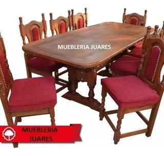 Mesa Extensible 1.60 A 2.00 De Algarrobo Envío Gratis!!!