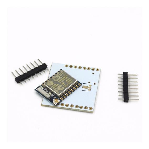 Módulo Wi-fi Esp8266 Esp-07 C/ Placa Adaptador Wifi Arduino