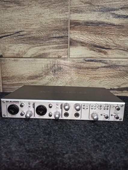 Interface De Audio M-audio Firewire 1814