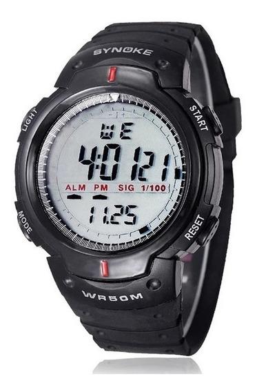 Relógio Masculino Synoke Preto