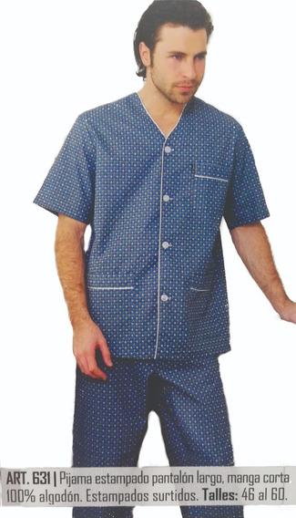 631. Pijama Estampado 100% Algodon. Talle Común