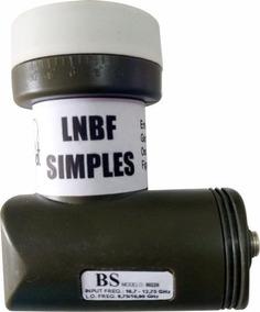 Lnb Simples Universal Brasilsat Semi Novo