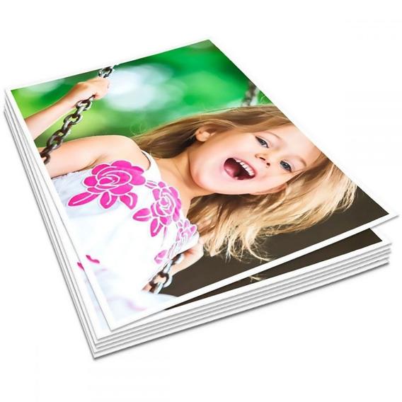 Papel Fotográfico 10x15 265g Glossy Branco Brilho 300 Folhas