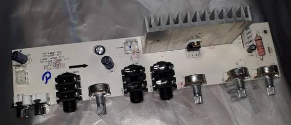 Placa Pré E Amplificadora Da Caixa Frahm Mf600/400/360bt