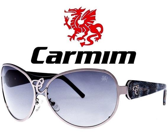 Oculos De Sol Feminino Original Carmim Vintage Retro Cobra