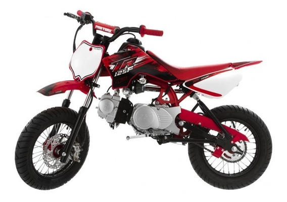 Mini Moto Pro Tork Tr125 F Supermotard Red Vermelha