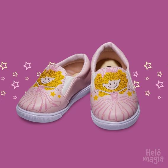 Tênis Infantil Menina - Slip On - Bonecas