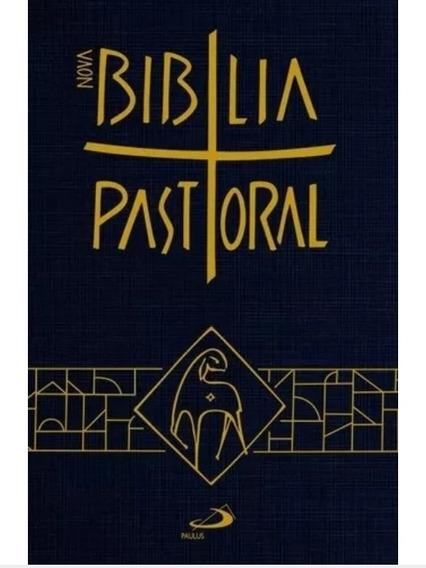 Bíblia Pastoral Com Capa Plástica
