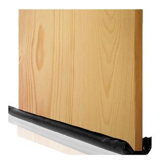 Guarda Polvo Para Puerta Negro Recortable Mide 95x18x5cm