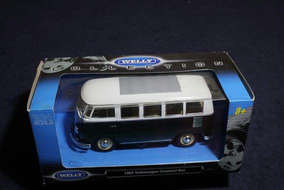 Volkswagen Classical Bus 1962 Welly 1:24