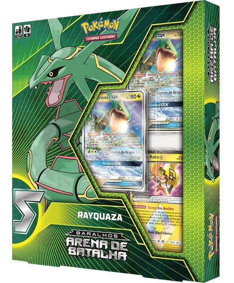 Pokémon Tcg Baralhos Arena De Batalha - Rayquaza Gx Deck
