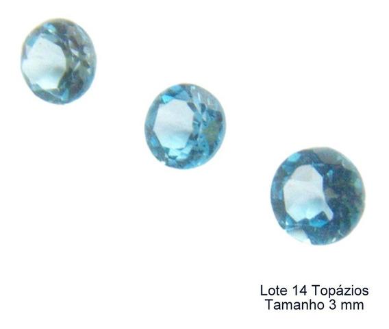 Topázio Sky Blue Pedra Preciosa Natural 8209a