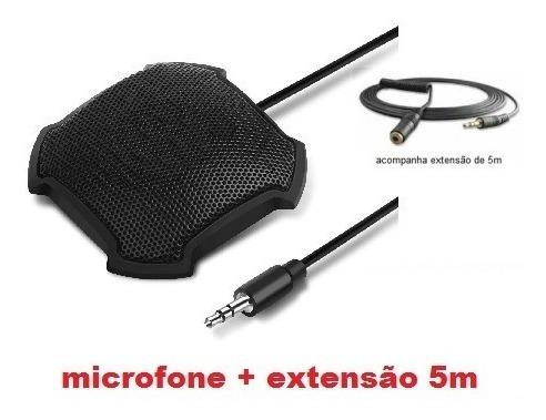 Microfone Para Conferência Fokey Fk-841 + Extensão 5m