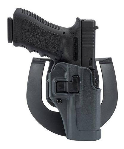 Imagen 1 de 3 de Porta Pistola Policial Glock