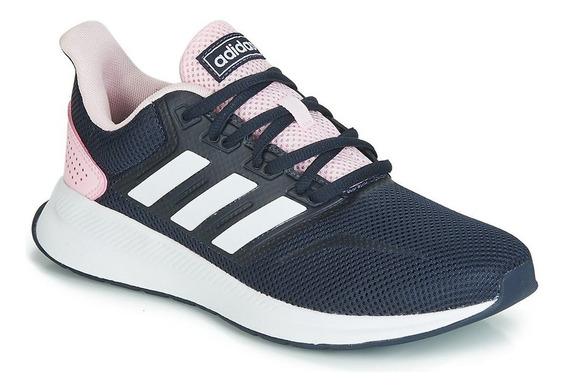 Zapatillas adidas Runfalcon W Navy/bco/rsa - Corner Deportes