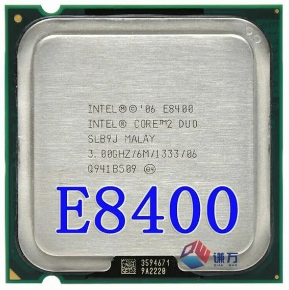 Procesador Intel E8400 + Fan Cooler Original Intel