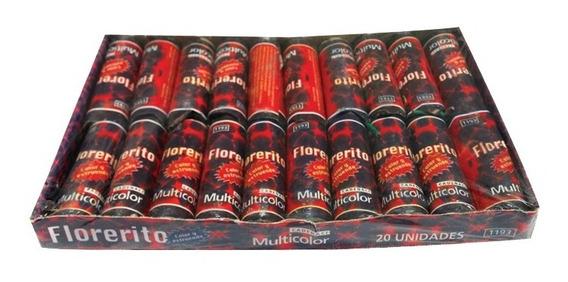 Florerito X 20 Multicolor Fuegos Artificiales Pirotecnia