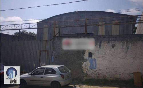 Galpão Para Alugar, 739 M² Por R$ 9.000/mês - Parque Cruzeiro Do Sul - São Paulo/sp - Ga0306