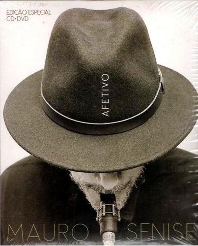 Imagem 1 de 1 de Mauro Senise - Afetivo - Dvd + Cd