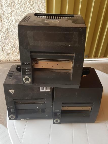 3 Impressoras Térmica Dascom 7206 - Peças Para Reposição