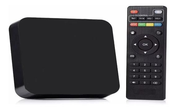 Tv Box Conversor Smart Tv 4k 4gb Ram 16gb Mem Android 9.0