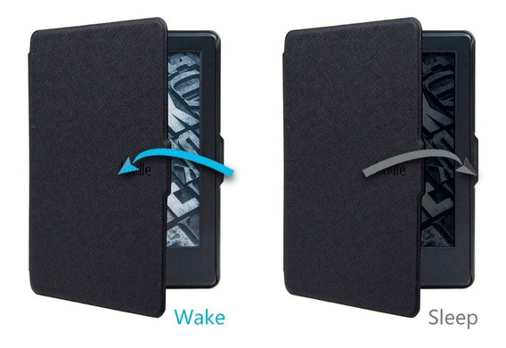 Capa Case Novo Kindle 10ª G. 2019 Preto- Fecho Magnético + Caneta E Película
