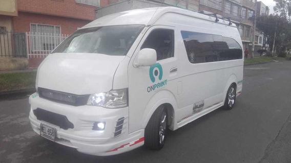 Jinbei Microbus 2013, 4 Puertas Blanca