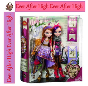 Ever After High Holly E Poppy Original E Lacrado - Amarelo