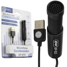 Microfone Estúdio Profissional Condensador Usb Jogos Treino
