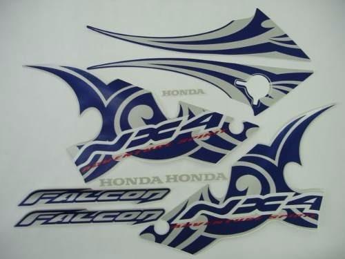 Jogo Adesivo Nx4 Falcon 2006 Azul - Frete R$9,90